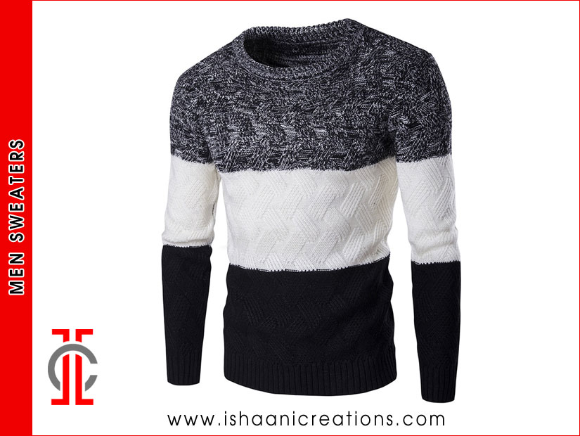 Two Tone Men Sweaters